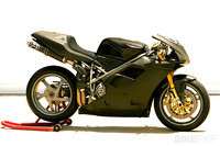Protection carbone Sebimoto Ducati 848-1098-1198 Protection embrayage carbone kevlar complet