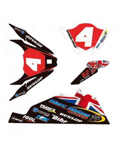 Kit déco personalisable Racing Street...