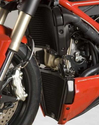 Grille protection radiateur R&G Racing Ducati Streetfighter 848 12-15 (eau-huile)